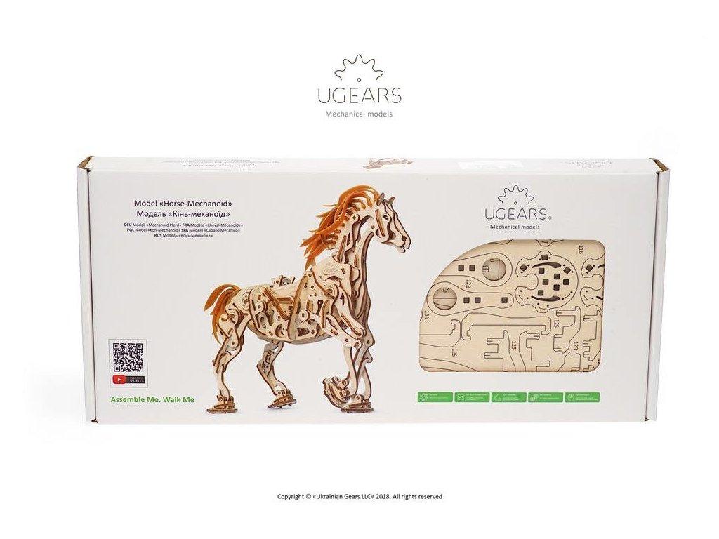 3d Mechanical Horse Magic Wood