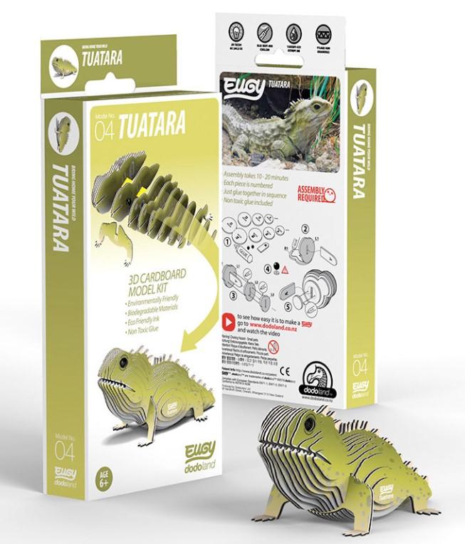 EUGY Tuatara Eco-Friendly 3D Paper Puzzle